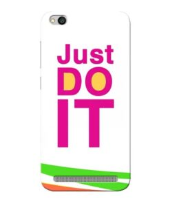 Just Do It Xiaomi Redmi 5A Mobile Cover