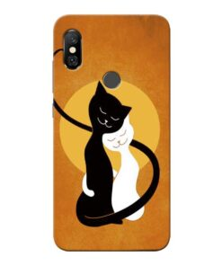 Kitty Cat Redmi Note 6 Pro Mobile Cover