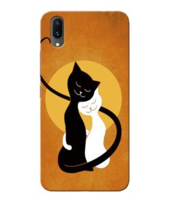 Kitty Cat Vivo X21 Mobile Cover