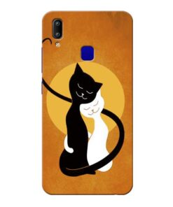 Kitty Cat Vivo Y91 Mobile Cover