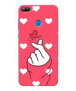 Little Heart Honor 9N Mobile Cover