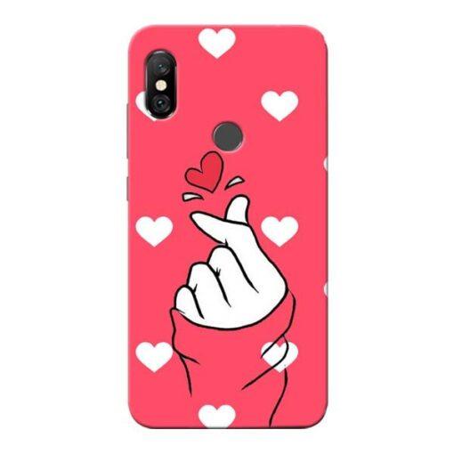 Little Heart Redmi Note 6 Pro Mobile Cover