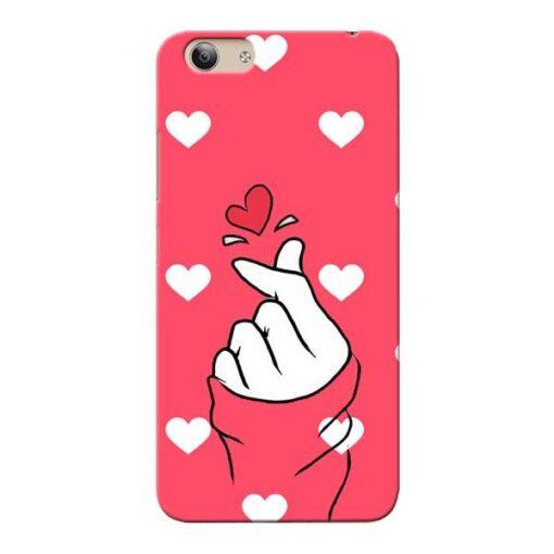Little Heart Vivo Y53i Mobile Cover