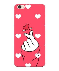 Little Heart Vivo Y55s Mobile Cover
