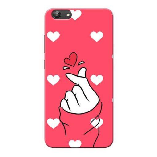 Little Heart Vivo Y66 Mobile Cover