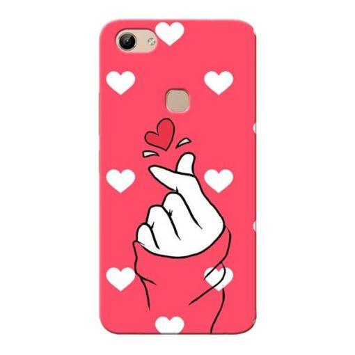 Little Heart Vivo Y81 Mobile Cover