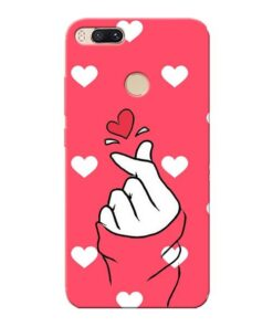 Little Heart Xiaomi Mi A1 Mobile Cover