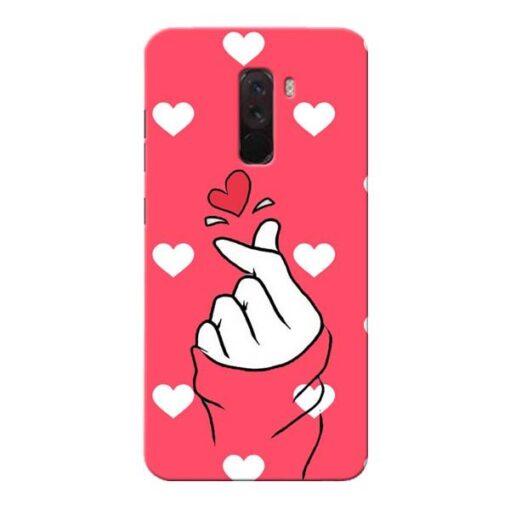 Little Heart Xiaomi Poco F1 Mobile Cover