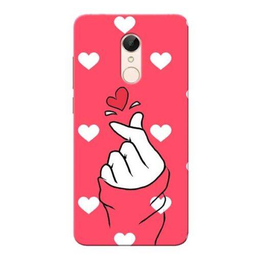 Little Heart Xiaomi Redmi 5 Mobile Cover
