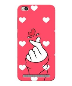 Little Heart Xiaomi Redmi 5A Mobile Cover
