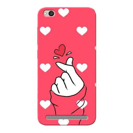 Little Heart Xiaomi Redmi 5A Mobile Cover