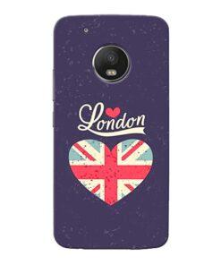 London Moto G5 Plus Mobile Cover