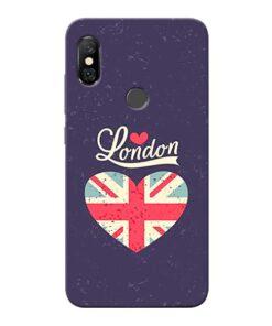 London Redmi Note 6 Pro Mobile Cover