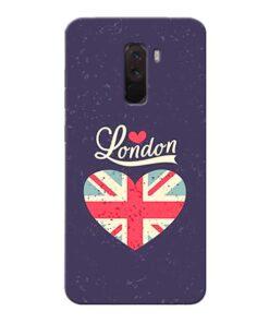 London Xiaomi Poco F1 Mobile Cover