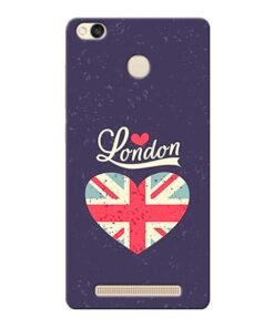 London Xiaomi Redmi 3s Prime Mobile Cover