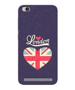 London Xiaomi Redmi 5A Mobile Cover