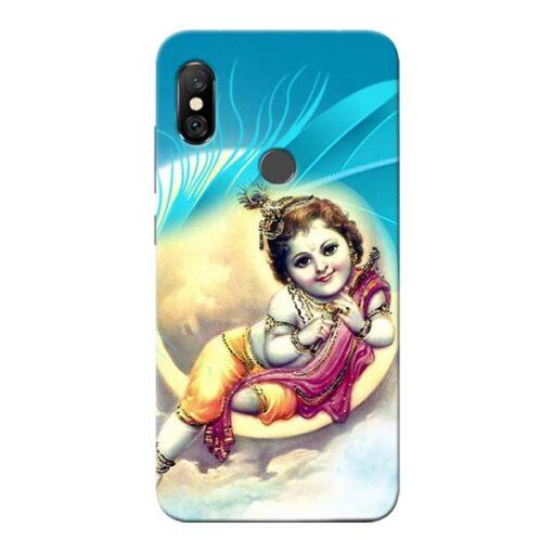 Lord Krishna Redmi Note 6 Pro Mobile Cover