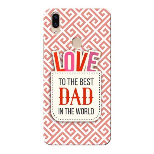 Love Dad Vivo V9 Mobile Cover