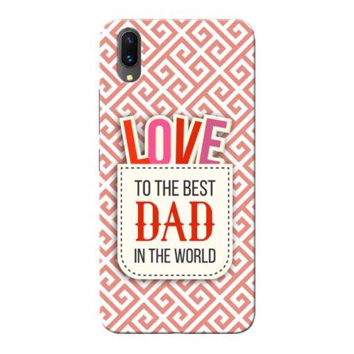 Love Dad Vivo X21 Mobile Cover