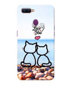 Love You Oppo F9 Pro Mobile Cover