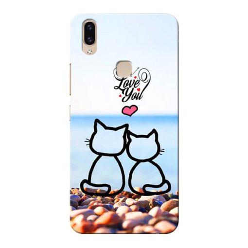 Love You Vivo V9 Mobile Cover