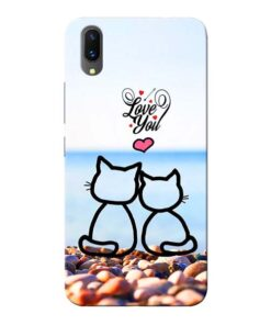 Love You Vivo X21 Mobile Cover