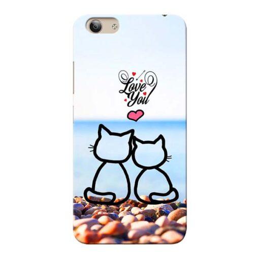 Love You Vivo Y53i Mobile Cover