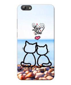 Love You Vivo Y69 Mobile Cover