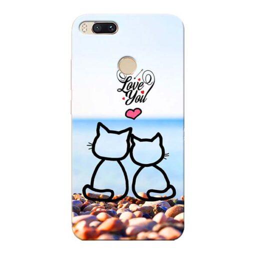 Love You Xiaomi Mi A1 Mobile Cover