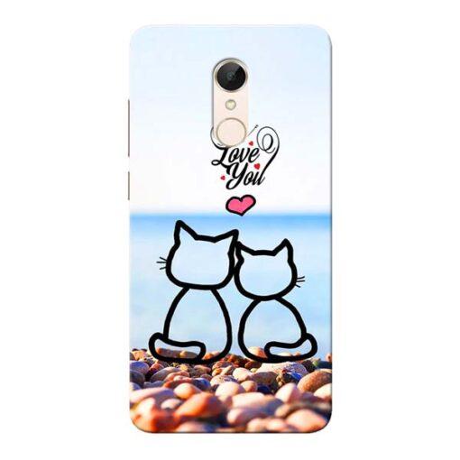 Love You Xiaomi Redmi 5 Mobile Cover