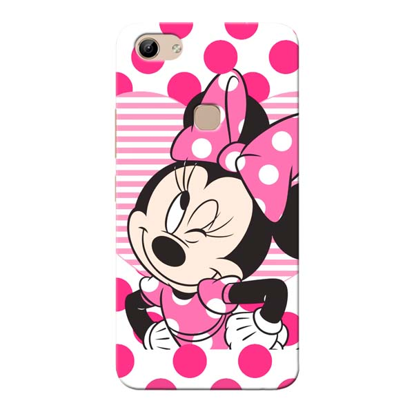 new product 57b21 73e40 Minnie Mouse Vivo Y81 Mobile Cover