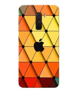 Neon Apple Xiaomi Poco F1 Mobile Cover