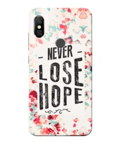 Never Lose Redmi Note 6 Pro Mobile Cover