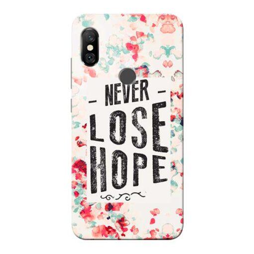 Never Lose Redmi Note 6 Pro Mobile Cover