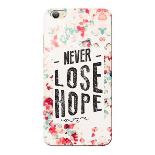 Never Lose Vivo V5s Mobile Cover