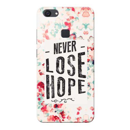 Never Lose Vivo V7 Plus Mobile Cover