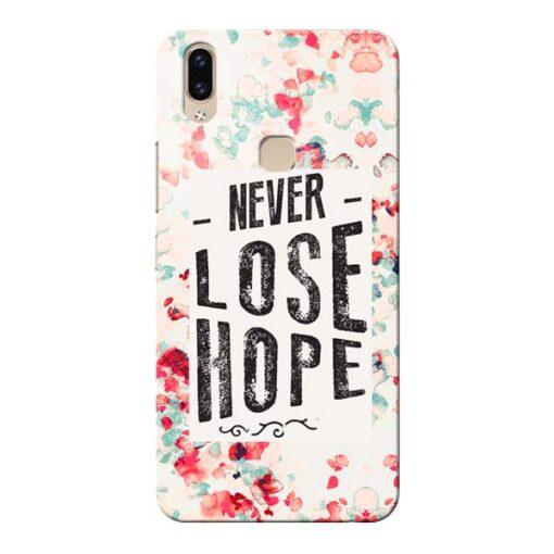Never Lose Vivo V9 Mobile Cover