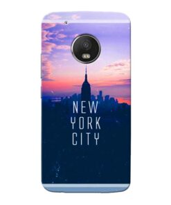 New York City Moto G5 Plus Mobile Cover