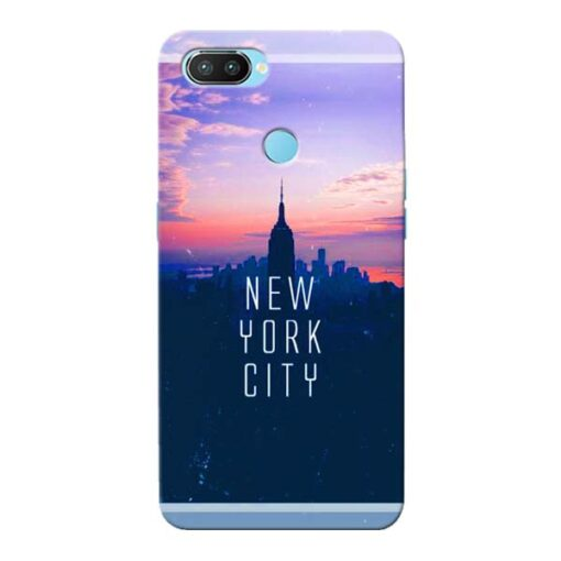 New York City Oppo Realme 2 Pro Mobile Cover