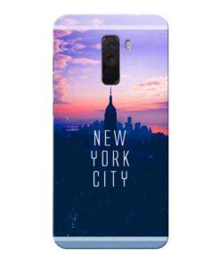 New York City Xiaomi Poco F1 Mobile Cover