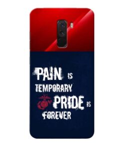 Pain Is Xiaomi Poco F1 Mobile Cover