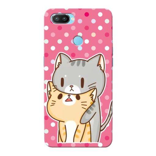 Pretty Cat Oppo Realme 2 Pro Mobile Cover