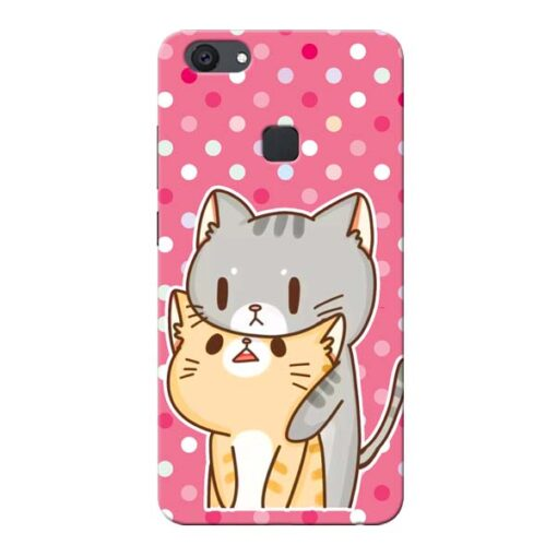 Pretty Cat Vivo V7 Plus Mobile Cover