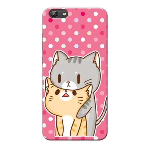 Pretty Cat Vivo Y66 Mobile Cover