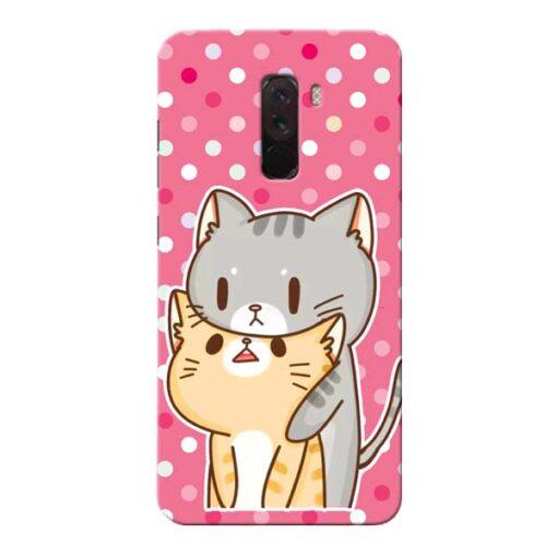 Pretty Cat Xiaomi Poco F1 Mobile Cover
