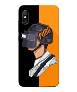 Pubg Cartoon Redmi Note 6 Pro Mobile Cover