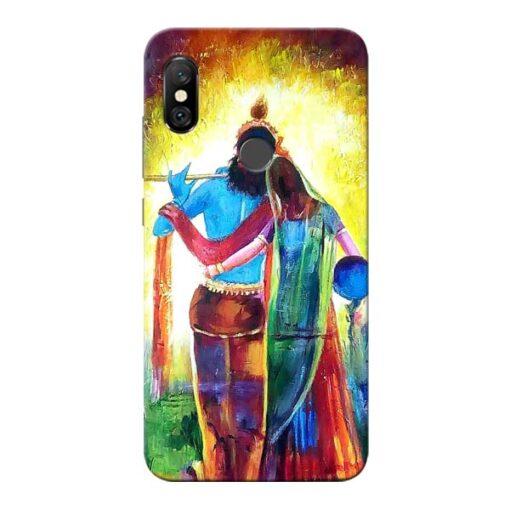 Radha Krishna Redmi Note 6 Pro Mobile Cover