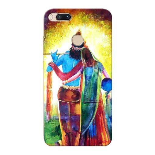 Radha Krishna Xiaomi Mi A1 Mobile Cover