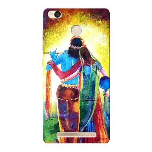 Radha Krishna Xiaomi Redmi 3s Prime Mobile Cover