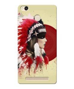 Red Cap Xiaomi Redmi 3s Prime Mobile Cover